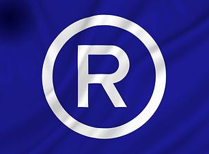 Restaurant flagg blå