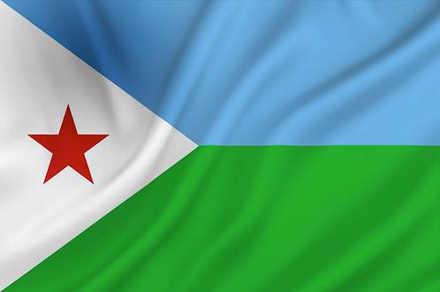 Flagg Djibouti
