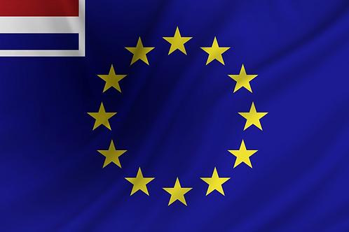 Handelsflagg EU + Nederland