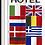 Hotel flernasjoner høydeflagg