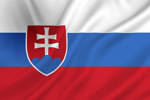 Slovakia flagg