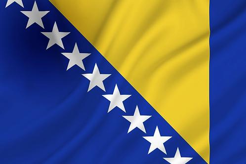 Flagg Bosnia Hercegovina