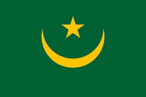 Flagg Mauritania