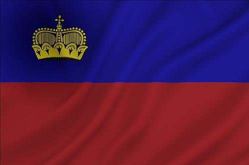 Flagg Liechtenstein