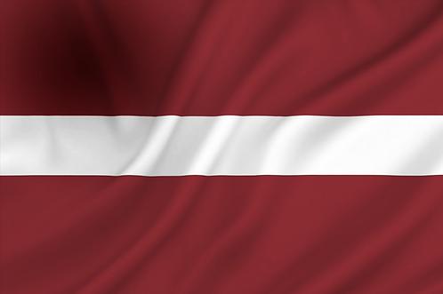 Flagg Latvia