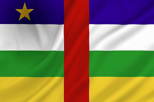Flagg Sentral Afrikanske Republikk