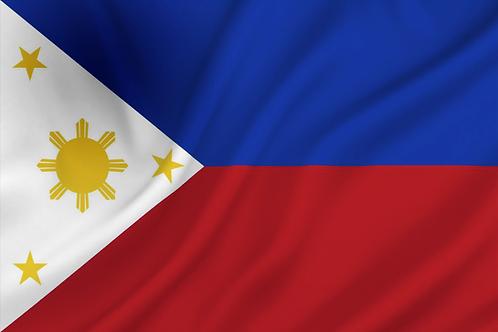 Flagg Filippinene