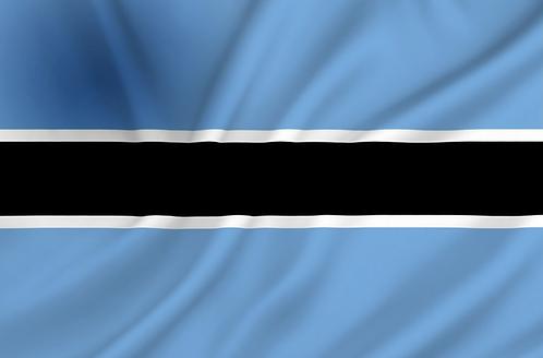 Flagg Botswana