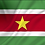 Surinam flagg