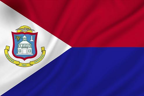 Sint Maarten flagg