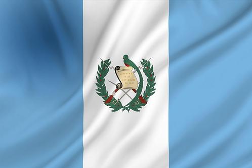 Flagg Guatemala