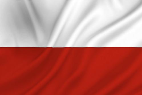 Flagg Polen