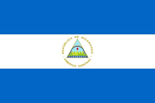 Flagg Nicaragua