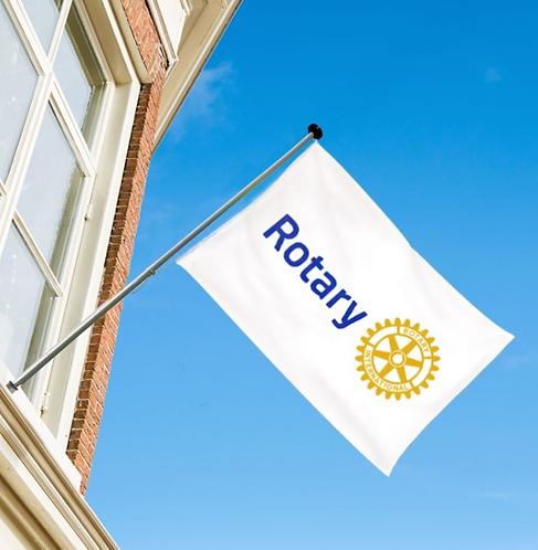 Rotary international flagg