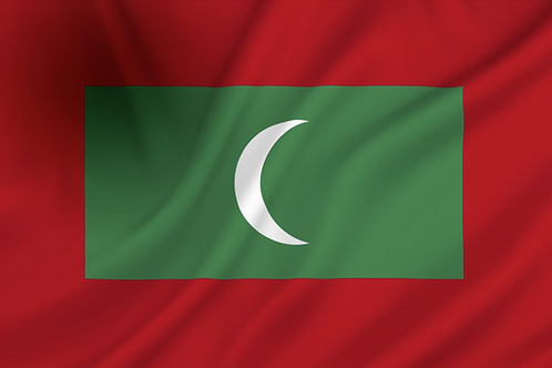 Flagg Maldivene