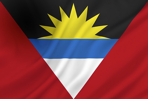 Flagg Antiqua og Barbuda