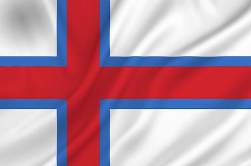 Flagg Færøyene