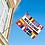 Thumbnail: Welcome flernasjonersflagg med flere nasjoners
