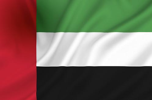 Flagg Arabiske Emirater
