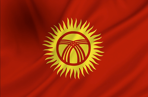 Flagg Kirgisistan