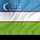 Thumbnail: Flagg Usbekistan
