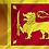 Sri Lanka flagg