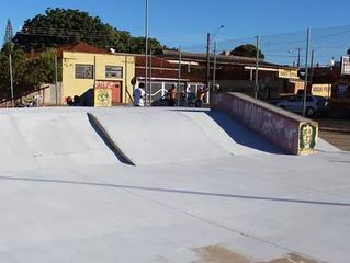 Prefeitura firma parceria com skatistas e reforma pista de skate em Marília