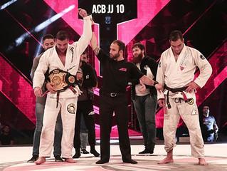 ACB JJ 10: Rocha e Miyao são campeões em noite histórica