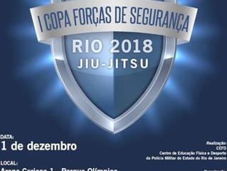 Campeonato de Jiu-Jitsu das Forças de Segurança Pública do Estado do Rio agita a Arena Carioca
