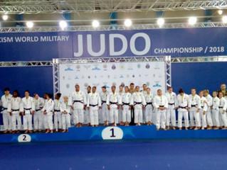 Brasil vence 38º Campeonato Mundial Militar de Judô