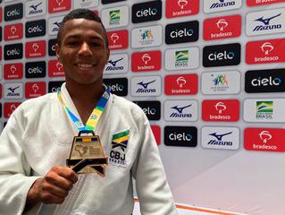 Judô: Emerson Silva vence mais um torneio e aguarda definição sobre seleção brasileira