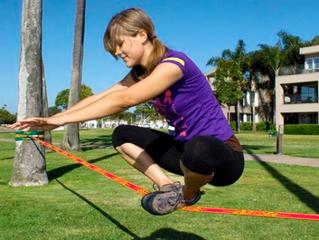 8 benefícios do slackline para a sua saúde