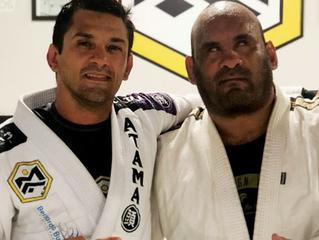 Mauro Ayres e a lição de Jiu-Jitsu e vida que aprendeu com Luciano de Andrade