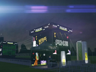 AXE vai disponibilizar slackline gigante para público do Lollapalooza