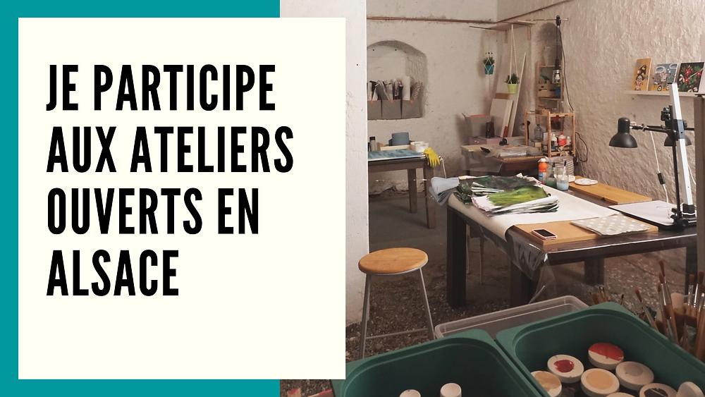 Vue de l'atelier de Cécile Kranzer