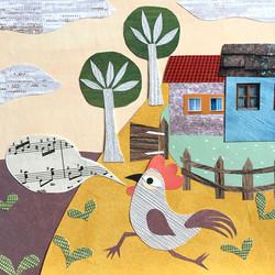 Cecile-Kranzer-Paper-Collage-Animals