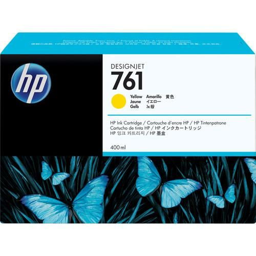 HP 761 400-ml Yellow Designjet Ink Cartridge For T7200