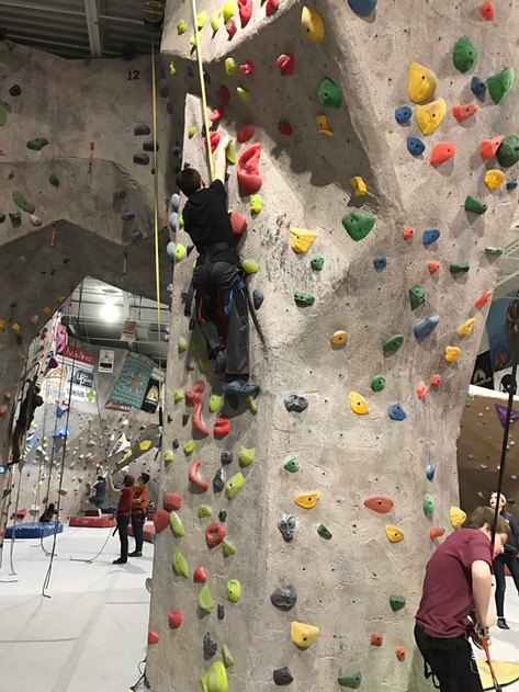 Scouts Choice Indoor Rockclimbing