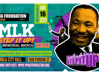 Step It Up! Joins 2017 City of New Orleans MLK Celebration
