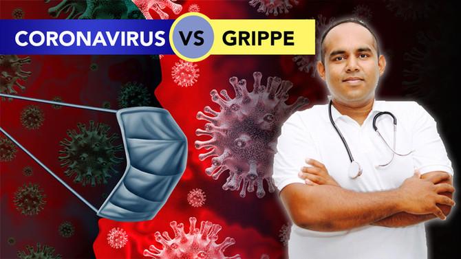 Coronavirus ou grippe : quelles différences ?