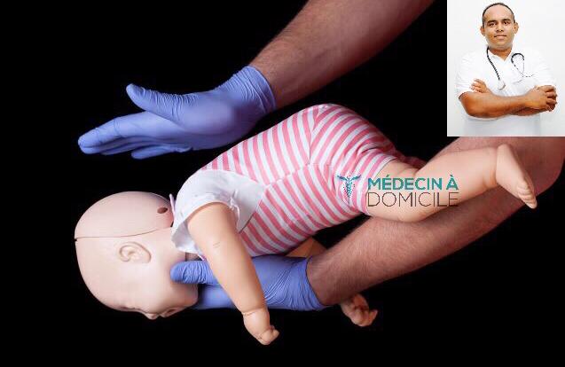Étouffement de bébé- Quoi faire?