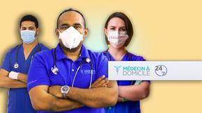 Confinement: Médecin à domicile, assure encore une fois