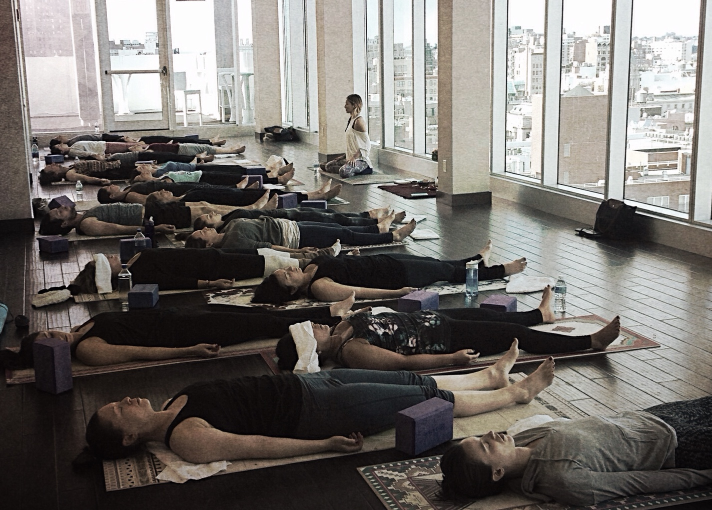 be glorious charity yoga class nyc