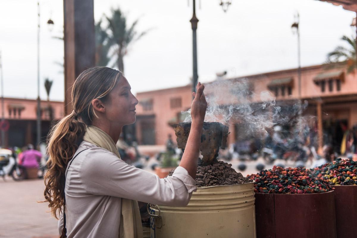 in the mellah, marrakech, morocco