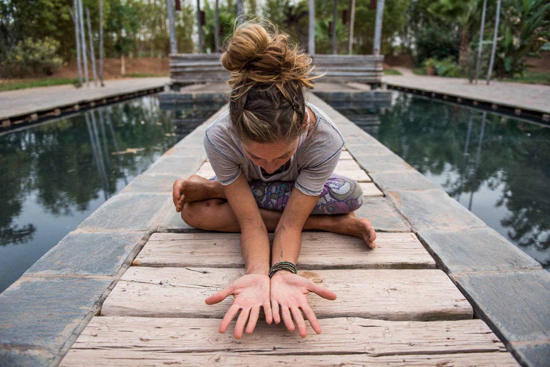 yoga at fellah hotel, morocco