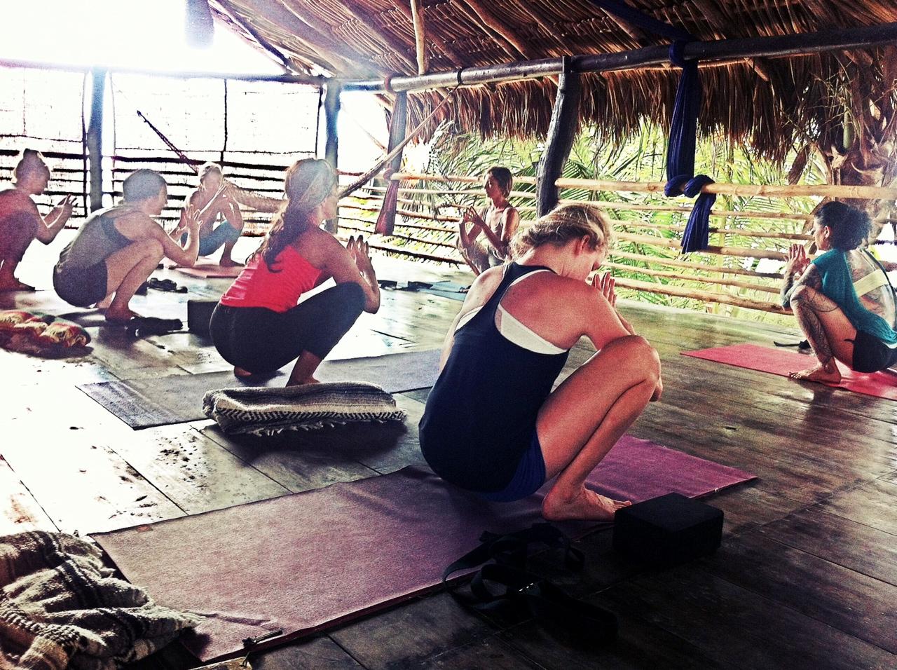 yoga retreat tulum
