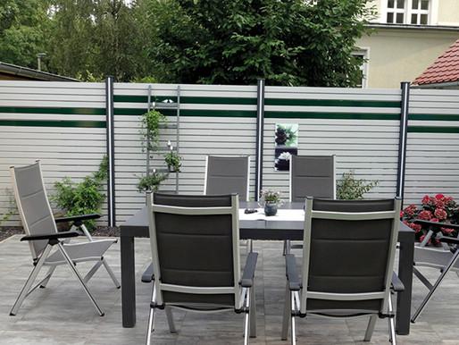 Sichtschutz für Terrasse & Sitzplatz             Wohnlichkeit und Privatsphäre auf Ihrer Terrasse