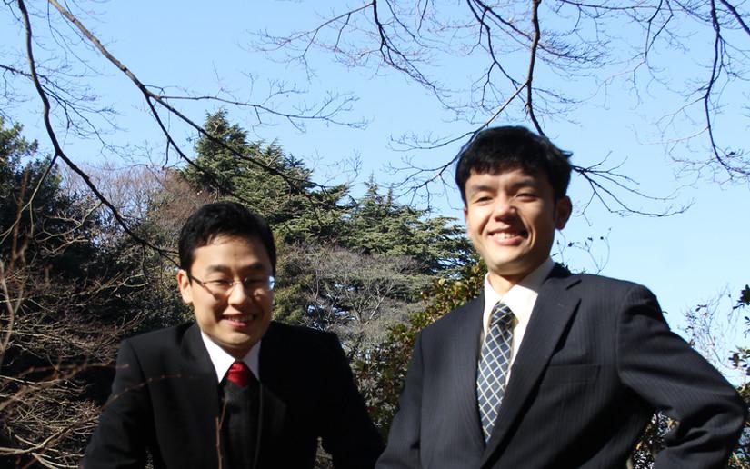 Yusuke Tagaya and me 2