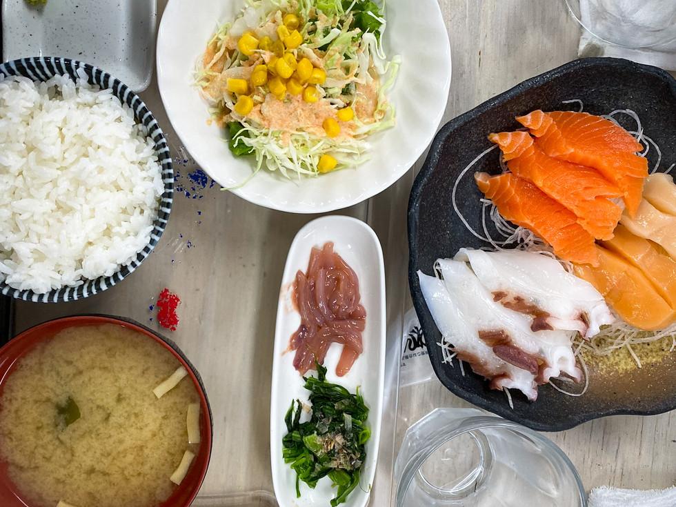 Sashimi Meal - Japan