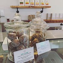 Locally produced raw treats... pop in to